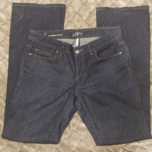 Gently Used Modern Boot Cut Jeans